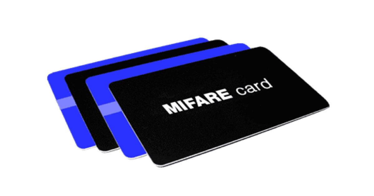 کارت های MIFARE مورد استفاده در دستگاه کنترل تردد