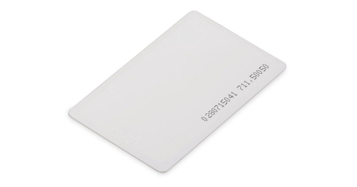 کارت های RFID مورد استفاده در دستگاه کنترل تردد